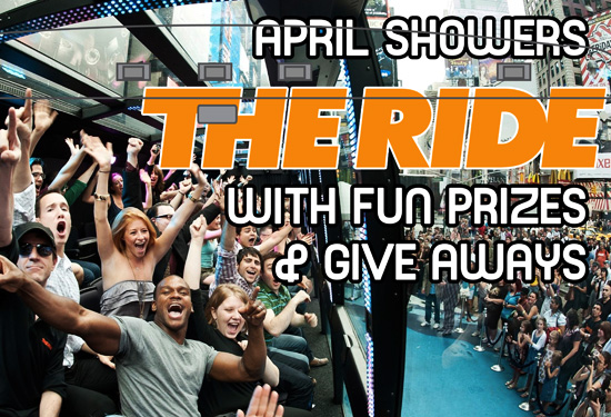 April Showers THE RIDE with gifts
