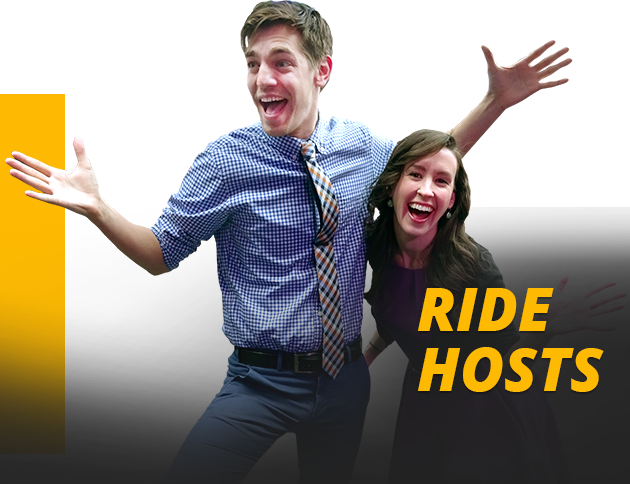 THE RIDE Hosts