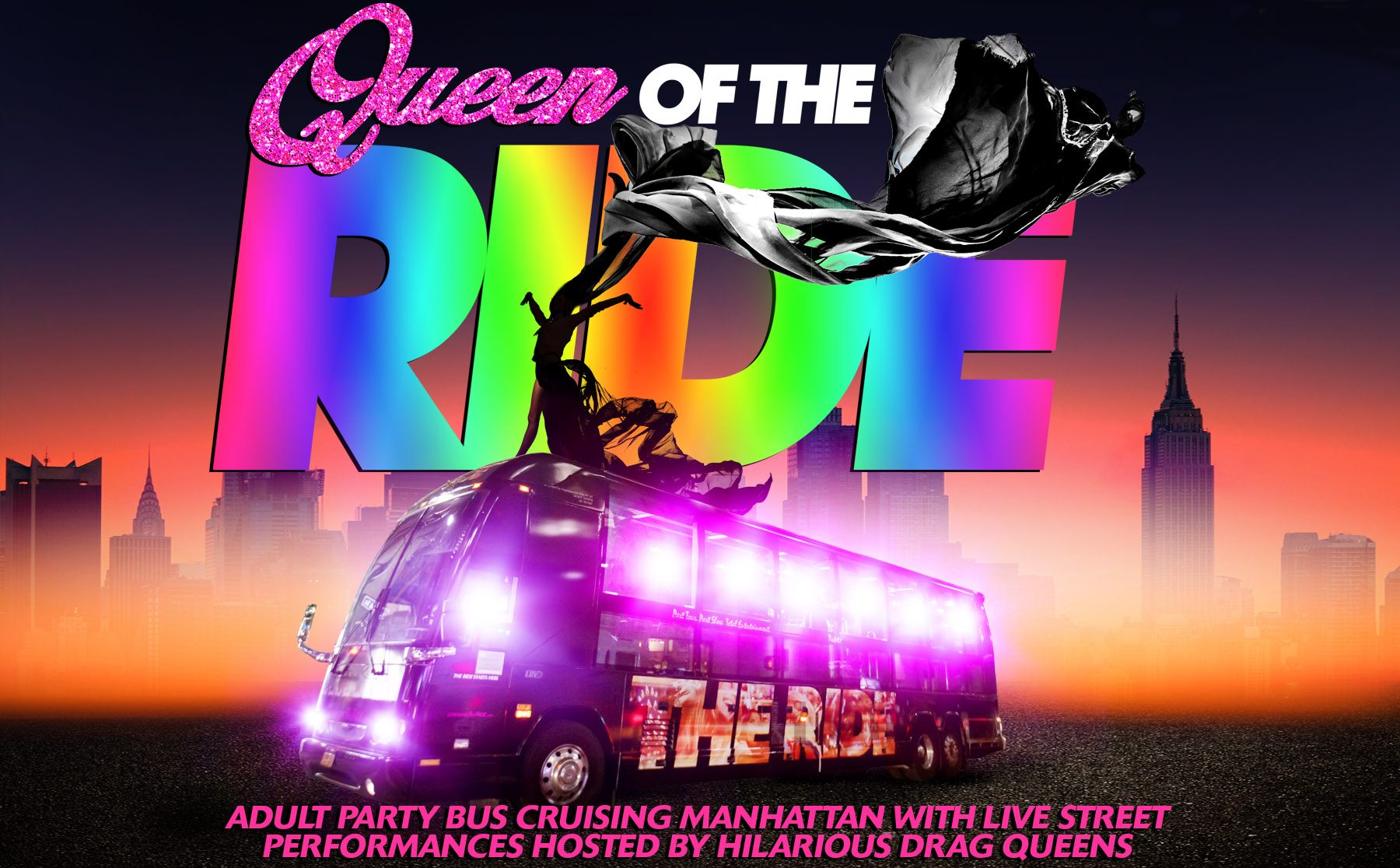 Queen of THE RIDE Logo/Promotional Image